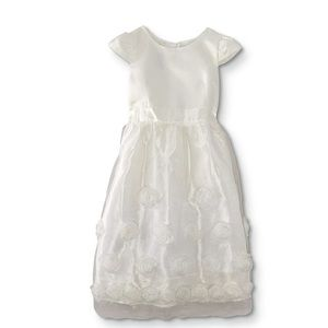 Primera Comunión Girls White Dress